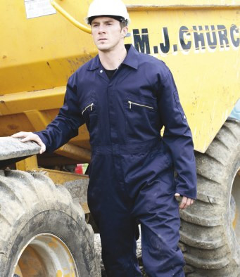 Dickies Redhalk Zip Front Coverall WD4839