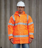 Value Hi Vis Road Safety Jacket HVP300