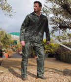 Waterproof Jacket and Trouser Suit in Carry Bag RS95