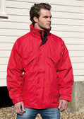 Result 3 in 1 Waterproof Zip and Clip Fleece Lined Jacket RS68