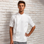 Premier Culinary Chef's Short Sleeve Tunic PR668