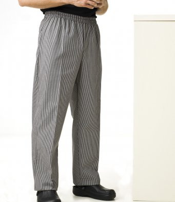Pull on Chef's Check Trousers Premier PR552