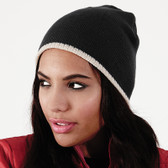 Beechfield Two-Tone Acrylic Knitted Beanie BB44C