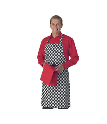 Check Bib Apron DP44