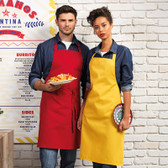Bib Apron No Pocket - PR150