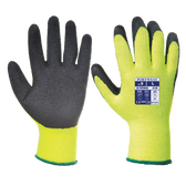 Thermal Grip Gloves Yellow