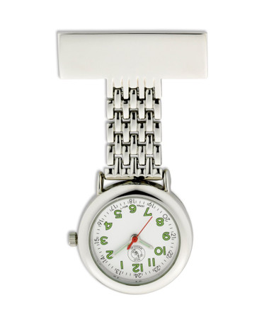 Classic Stainless Steel Fob Watch