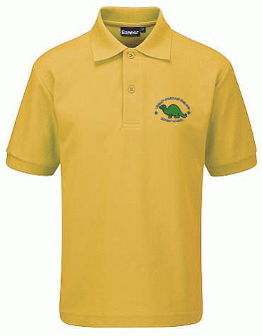 Lindley Infant School Gold Polo