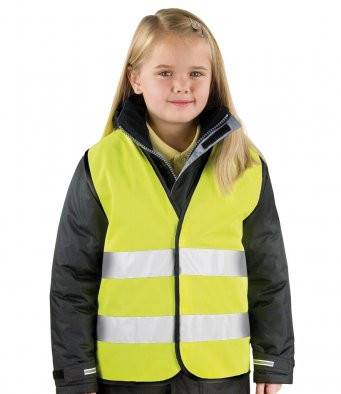 Result New Kids Core Hi Viz Safety Vest