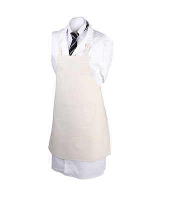 Senior School Apron - Ideal for craft and technology, art or science. This school aprons can be embroidered with your school logo.