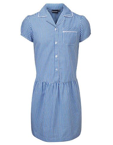 Blue School Summer Dress
