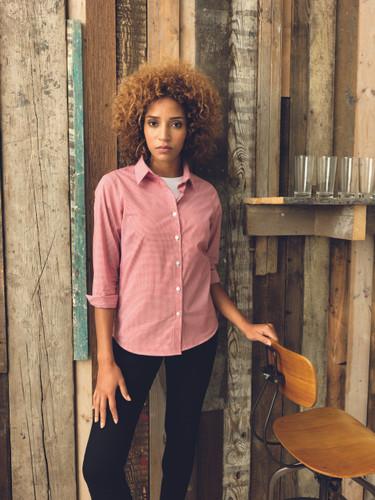 Premier Microcheck Long Sleeve Shirt