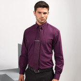 Premier Long Sleeve Poplin Shirt - PR200