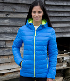Result Urban Ladies Snow Bird Padded Jacket RS194F