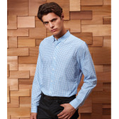 Premier Maxton Check Long Sleeve Shirt - PR252