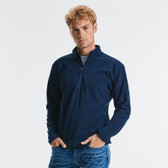 Russell Zip Neck Micro Fleece - 881M