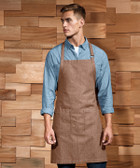 Premier Fairtrade Certified Organic Cotton Denim Bib Apron - PR113
