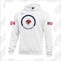 CSH Basketball Nike Club Fleece Pullover Hoodie