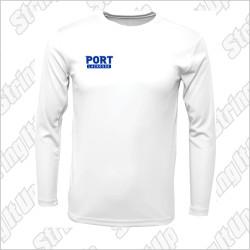 Port Washington Lacrosse B.A.W. Long Sleeve Performance Tee