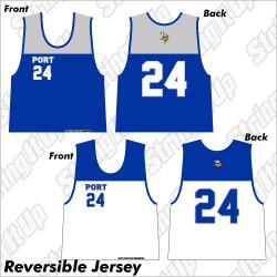 SIU Port Washington Lacrosse Reversible Jersey