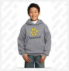 Oquenock Youth Port & Company®  - Essential Fleece Pullover Hooded Sweatshirt