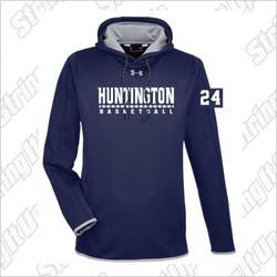 Huntington Basketball Under Armour Double Threat Hoodie