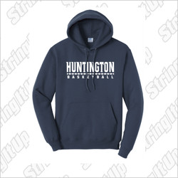 Huntington Basketball Port & Company® - Essential Fleece Pullover Hooded Sweatshirt