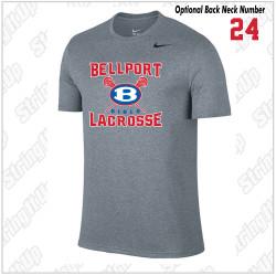 Bellport Lacrosse Nike Legend Dri-Fit Short Sleeve Tee