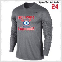 Bellport Lacrosse Nike Legend Dri-Fit Long Sleeve