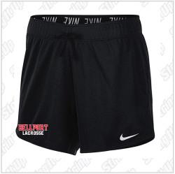 Bellport Lacrosse Nike Women's Attack Shorts.