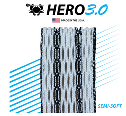 East Coast Dyes Hero Mesh 3.0 Black Striker