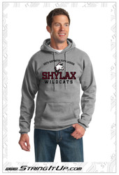SHYLax Heather Grey Hoodie - YOUTH
