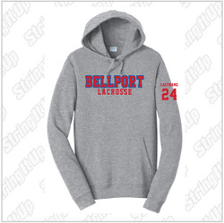 Bellport Port & Company® Fan Favorite Fleece Pullover Hooded Sweatshirt