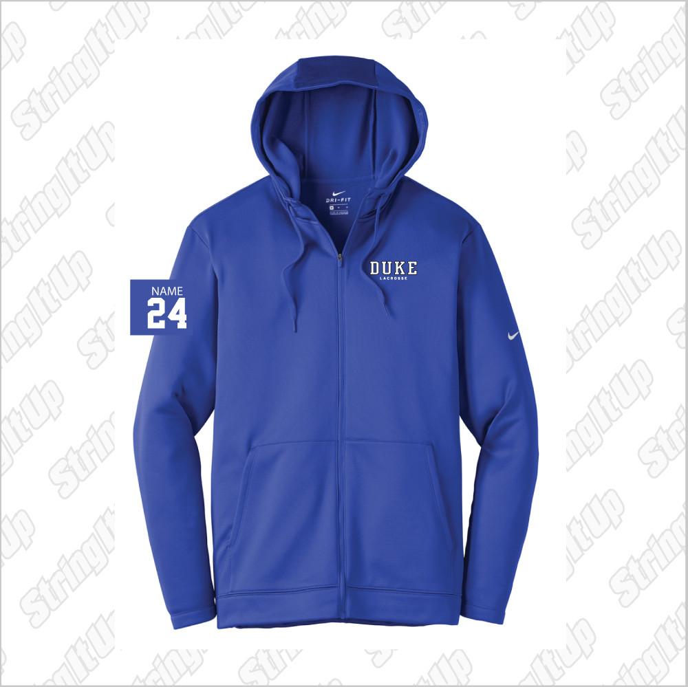 c94639f0561c Duke Men s Nike Therma-FIT Full-Zip Fleece Hoodie - String It Up s Store