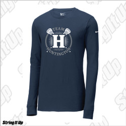 Team Huntington Nike Men's Long Sleeve Blend Tee