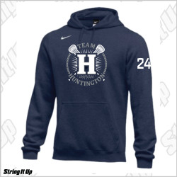 Team Huntington Nike Club Fleece Pullover Hoodie
