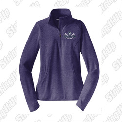 HVLax Sport-Tek® Ladies Sport-Wick® Stretch 1/2-Zip Pullover
