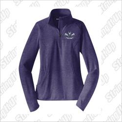 HVLax Sport-Tek® Ladies Sport-Wick® Stretch 1/2-Zip Pullover