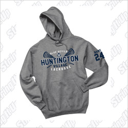 HVLax Adult Port & Company® - Essential Fleece Pullover Hooded