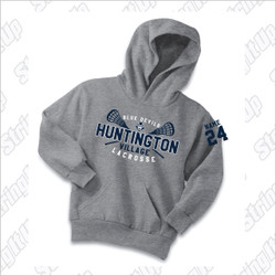 HVLax Youth Port & Company® - Essential Fleece Pullover Hooded