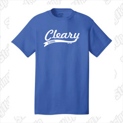 Cleary School Adult Tee Shirt