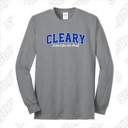 Cleary School Youth Long Sleeve Tee Shirt