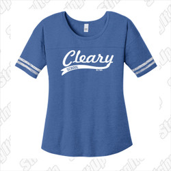 Cleary School Women's Scorecard Tee