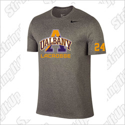 Albany Men's Nike Short Sleeve Legend Tee Grey