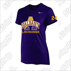 Albany Women's Nike Short Sleeve Legend Tee Purple