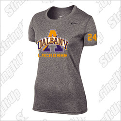 Albany Women's Nike Short Sleeve Legend Tee Grey