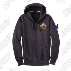 Albany Men's Sport-Tek® Super Heavyweight Full-Zip Hooded Sweatshirt