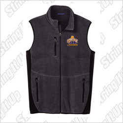 Albany Men's Port Authority® R-Tek® Pro Fleece Full-Zip Vest.
