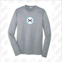 Fogo Lax Academy Sport-Tek® PosiCharge® Heather Long Sleeve Tee