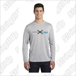 Fogo Lax Academy Sport-Tek ® PosiCharge ® Long Sleeve Electric Heather Tee